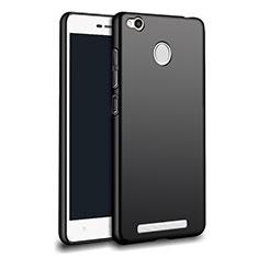 Xiaomi Redmi 3S用極薄ソフトケース シリコンケース 耐衝撃 全面保護 Xiaomi ブラック