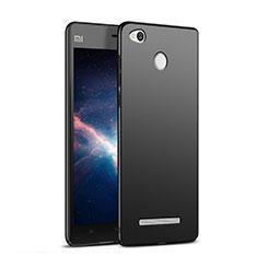 Xiaomi Redmi 3S用ハードケース プラスチック 質感もマット M03 Xiaomi ブラック