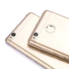 Xiaomi Redmi 3S Prime用極薄ソフトケース シリコンケース 耐衝撃 全面保護 クリア透明 T06 Xiaomi グレー