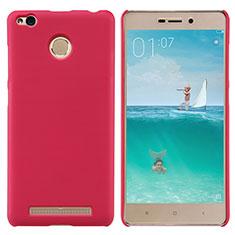 Xiaomi Redmi 3S Prime用ハードケース プラスチック メッシュ デザイン Xiaomi レッド
