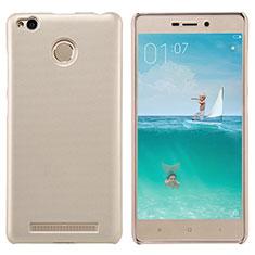 Xiaomi Redmi 3S Prime用ハードケース プラスチック メッシュ デザイン Xiaomi ゴールド