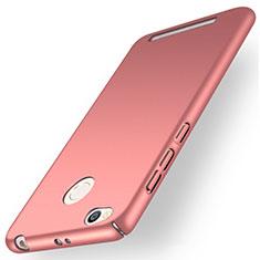 Xiaomi Redmi 3X用ハードケース プラスチック 質感もマット カバー Xiaomi ローズゴールド