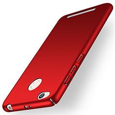 Xiaomi Redmi 3X用ハードケース プラスチック 質感もマット Xiaomi レッド