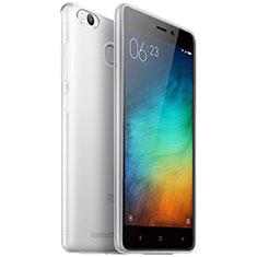 Xiaomi Redmi 3X用極薄ソフトケース シリコンケース 耐衝撃 全面保護 クリア透明 T04 Xiaomi クリア