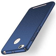 Xiaomi Redmi 3X用ハードケース カバー プラスチック Xiaomi ネイビー