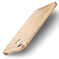 Xiaomi Redmi 3X用極薄ソフトケース シリコンケース 耐衝撃 全面保護 Xiaomi ゴールド