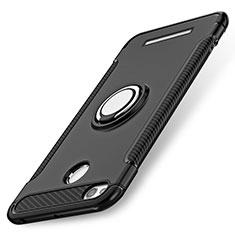 Xiaomi Redmi 3X用ハイブリットバンパーケース プラスチック アンド指輪 兼シリコーン Xiaomi ブラック