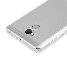 Xiaomi Redmi 4 Prime High Edition用極薄ソフトケース シリコンケース 耐衝撃 全面保護 クリア透明 カバー Xiaomi クリア