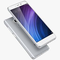 Xiaomi Redmi 4 Prime High Edition用極薄ソフトケース シリコンケース 耐衝撃 全面保護 クリア透明 T02 Xiaomi クリア