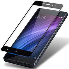 Xiaomi Redmi 4 Prime High Edition用強化ガラス フル液晶保護フィルム F02 Xiaomi ブラック