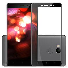 Xiaomi Redmi 4 Prime High Edition用強化ガラス フル液晶保護フィルム F03 Xiaomi ブラック
