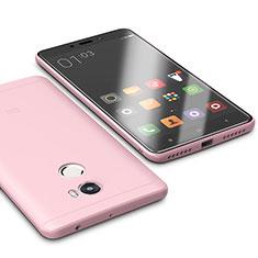 Xiaomi Redmi 4 Standard Edition用極薄ソフトケース シリコンケース 耐衝撃 全面保護 S01 Xiaomi ピンク