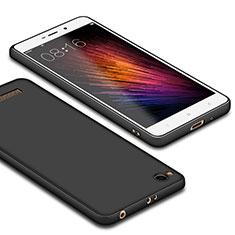 Xiaomi Redmi 4A用極薄ソフトケース シリコンケース 耐衝撃 全面保護 Xiaomi ブラック