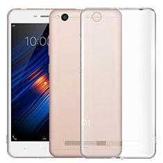 Xiaomi Redmi 4A用極薄ソフトケース シリコンケース 耐衝撃 全面保護 クリア透明 T03 Xiaomi クリア