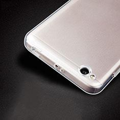 Xiaomi Redmi 4A用極薄ソフトケース シリコンケース 耐衝撃 全面保護 クリア透明 T04 Xiaomi クリア