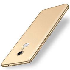 Xiaomi Redmi 5 Plus用ハードケース プラスチック 質感もマット M01 Xiaomi ゴールド