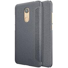 Xiaomi Redmi 5 Plus用手帳型 レザーケース スタンド Xiaomi ブラック