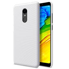 Xiaomi Redmi 5 Plus用ハードケース プラスチック メッシュ デザイン Xiaomi ホワイト