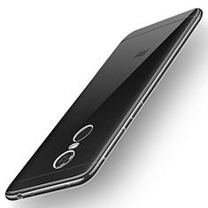 Xiaomi Redmi 5 Plus用極薄ソフトケース シリコンケース 耐衝撃 全面保護 クリア透明 T02 Xiaomi クリア