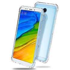 Xiaomi Redmi 5 Plus用極薄ソフトケース シリコンケース 耐衝撃 全面保護 クリア透明 T03 Xiaomi クリア