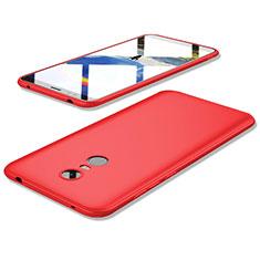 Xiaomi Redmi 5 Plus用極薄ソフトケース シリコンケース 耐衝撃 全面保護 S02 Xiaomi レッド
