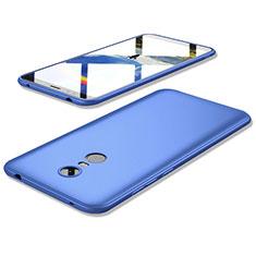 Xiaomi Redmi 5 Plus用極薄ソフトケース シリコンケース 耐衝撃 全面保護 S02 Xiaomi ネイビー
