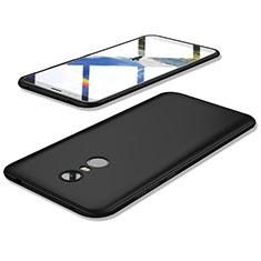 Xiaomi Redmi 5 Plus用極薄ソフトケース シリコンケース 耐衝撃 全面保護 S02 Xiaomi ブラック