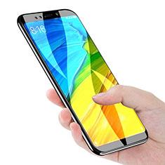 Xiaomi Redmi 5 Plus用強化ガラス フル液晶保護フィルム F02 Xiaomi ブラック
