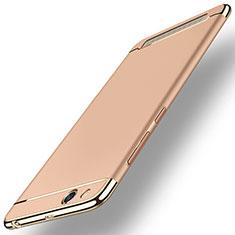 Xiaomi Redmi 5A用ケース 高級感 手触り良い メタル兼プラスチック バンパー Xiaomi ローズゴールド