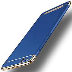 Xiaomi Redmi 5A用ケース 高級感 手触り良い メタル兼プラスチック バンパー Xiaomi ネイビー