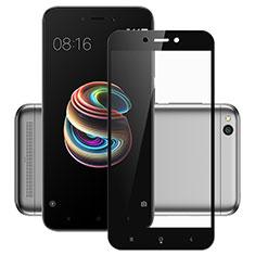 Xiaomi Redmi 5A用強化ガラス フル液晶保護フィルム Xiaomi ブラック