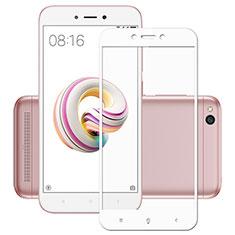 Xiaomi Redmi 5A用強化ガラス フル液晶保護フィルム Xiaomi ホワイト