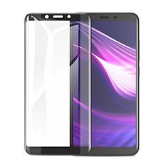 Xiaomi Redmi 6用強化ガラス フル液晶保護フィルム F02 Xiaomi ブラック