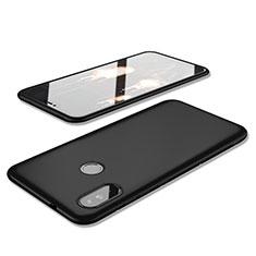 Xiaomi Redmi 6 Pro用極薄ソフトケース シリコンケース 耐衝撃 全面保護 S02 Xiaomi ブラック