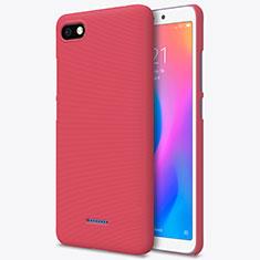 Xiaomi Redmi 6A用ハードケース プラスチック メッシュ デザイン Xiaomi レッド