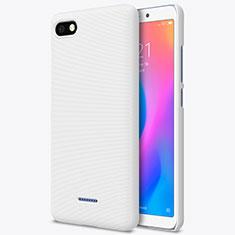 Xiaomi Redmi 6A用ハードケース プラスチック メッシュ デザイン Xiaomi ホワイト