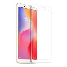 Xiaomi Redmi 6A用強化ガラス フル液晶保護フィルム Xiaomi ホワイト