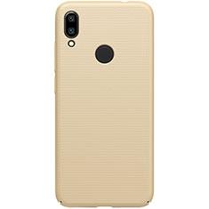 Xiaomi Redmi 7用ハードケース プラスチック 質感もマット M01 Xiaomi ゴールド