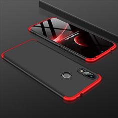 Xiaomi Redmi 7用ハードケース プラスチック 質感もマット 前面と背面 360度 フルカバー Xiaomi レッド・ブラック