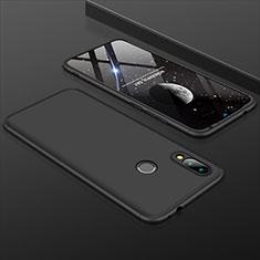 Xiaomi Redmi 7用ハードケース プラスチック 質感もマット 前面と背面 360度 フルカバー Xiaomi ブラック