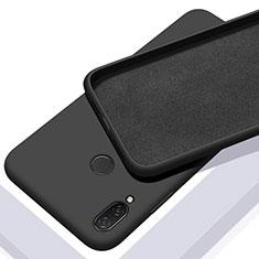 Xiaomi Redmi 7用360度 フルカバー極薄ソフトケース シリコンケース 耐衝撃 全面保護 バンパー Xiaomi ブラック