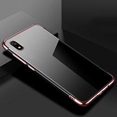 Xiaomi Redmi 7A用極薄ソフトケース シリコンケース 耐衝撃 全面保護 クリア透明 H01 Xiaomi ローズゴールド