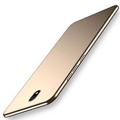 Xiaomi Redmi 8A用ハードケース プラスチック 質感もマット カバー M02 Xiaomi ゴールド