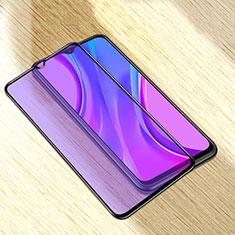 Xiaomi Redmi 9A用強化ガラス フル液晶保護フィルム アンチグレア ブルーライト Xiaomi ブラック