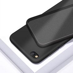 Xiaomi Redmi Go用360度 フルカバー極薄ソフトケース シリコンケース 耐衝撃 全面保護 バンパー Xiaomi ブラック