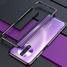 Xiaomi Redmi K30i 5G用ケース 高級感 手触り良い アルミメタル 製の金属製 バンパー カバー Xiaomi パープル