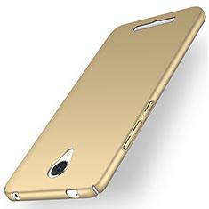 Xiaomi Redmi Note 2用ハードケース プラスチック 質感もマット Xiaomi ゴールド