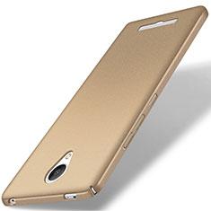 Xiaomi Redmi Note 2用ハードケース カバー プラスチック Xiaomi ゴールド