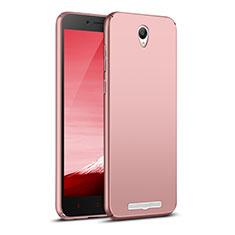 Xiaomi Redmi Note 2用ハードケース プラスチック 質感もマット M02 Xiaomi ローズゴールド