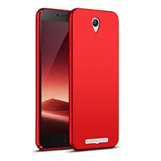 Xiaomi Redmi Note 2用ハードケース プラスチック 質感もマット M02 Xiaomi レッド